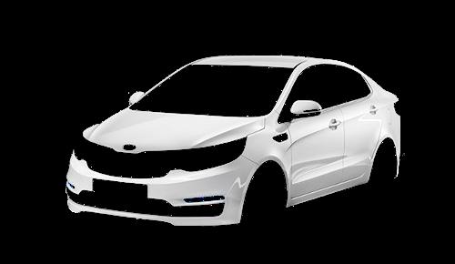 Цвета кузова Rio Sedan