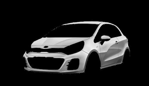 Цвета кузова Rio Hatchback